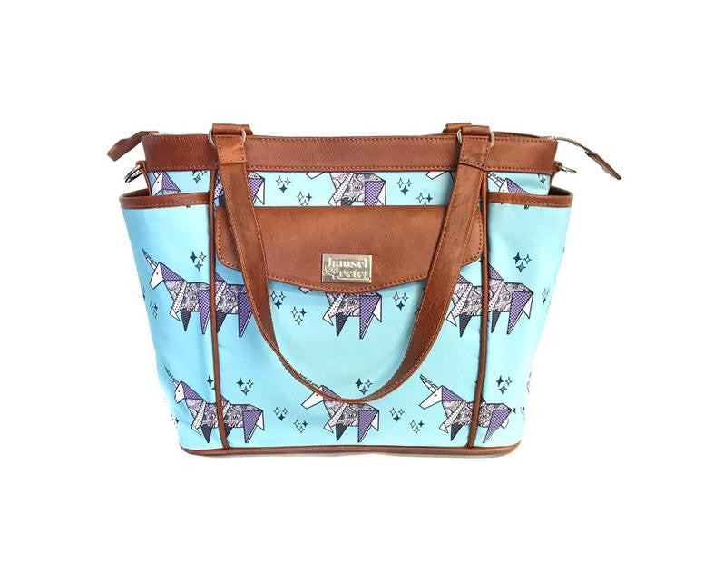 HG Printed Medium Dinky Diaper Bag