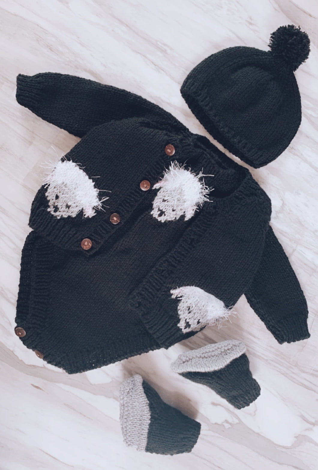 Little Lamb Knitted Set
