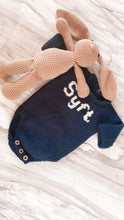 Personalized Knit Name Romper