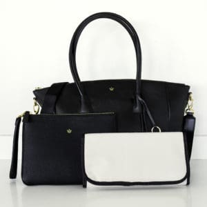 Black Lux Changing Bag