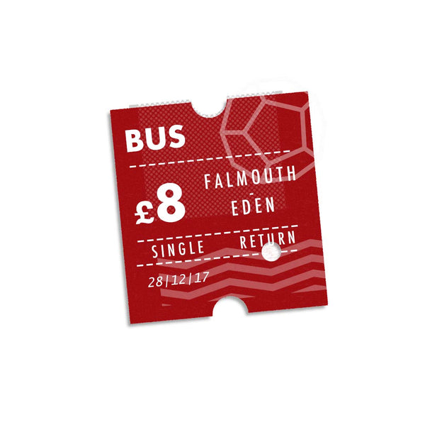 Bus Ticket: Falmouth – Eden Project