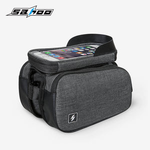 Cycling Carry Bag with Mobile Holder + Shade (For better screen Visibility)