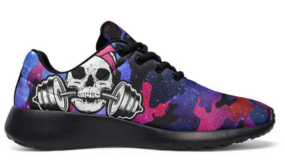 Dumbbell Skull Galaxy Camo