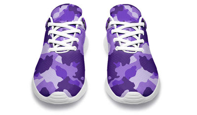 Dumbbell Skull Camo Purple