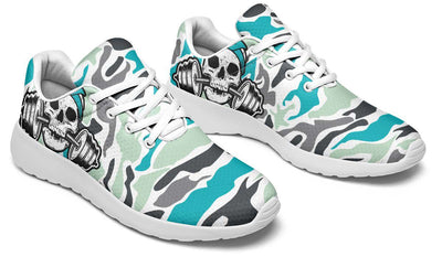 Dumbbell Skull Camo Minty Cool
