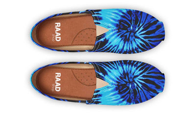 Black And Blue Tie Dye