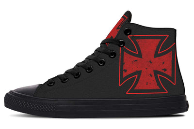 Red Maltese Cross