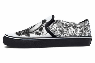 Skull And Mandala White