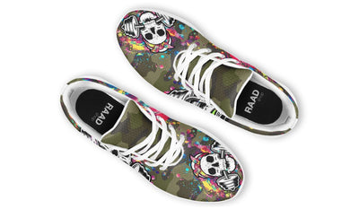 Camo Colorful Splat Skull