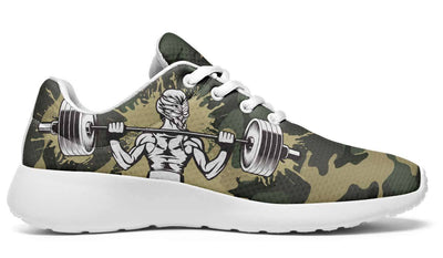 Camo Weights Strong Girl