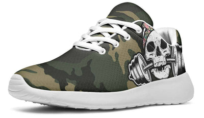Flower Pattern Dumbbell Skull Camo