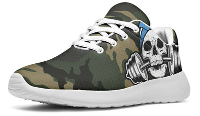 Pale Blue Dumbbell Skull Camo