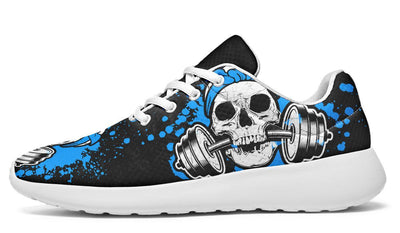 Splat Skull Black Pale Blue