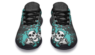 Splat Skull Distressed Turquoise