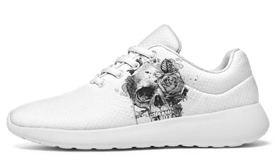 One Grey Skull One Grey Rose