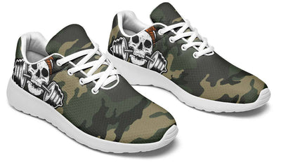 Tiger Pattern Dumbbell Skull Camo