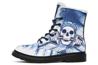 Blue Skull Weights