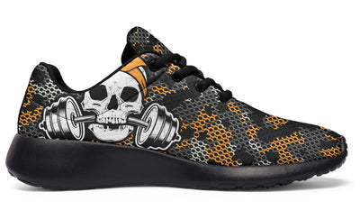 Yellow Black Camo Skull Lift