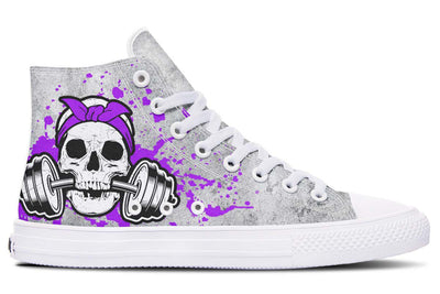 Purple Skull Splats
