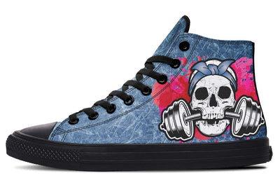 Splat Skull Acid Wash