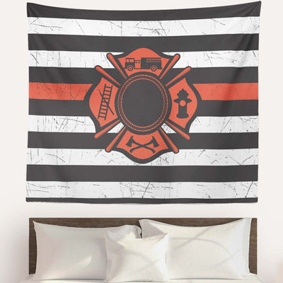 Firefighter Premium Wall Tapestries