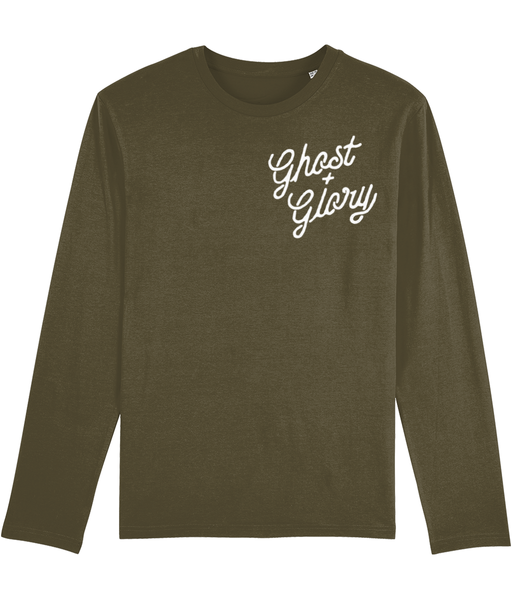 Curse of Cursive Long-sleeve Tee
