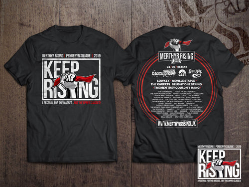 Keep Rising 2019 T-shirt
