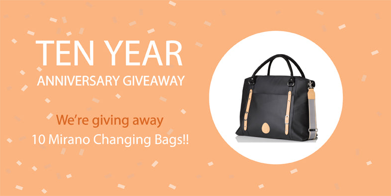 10 Mirano Changing Bags to Giveaway!