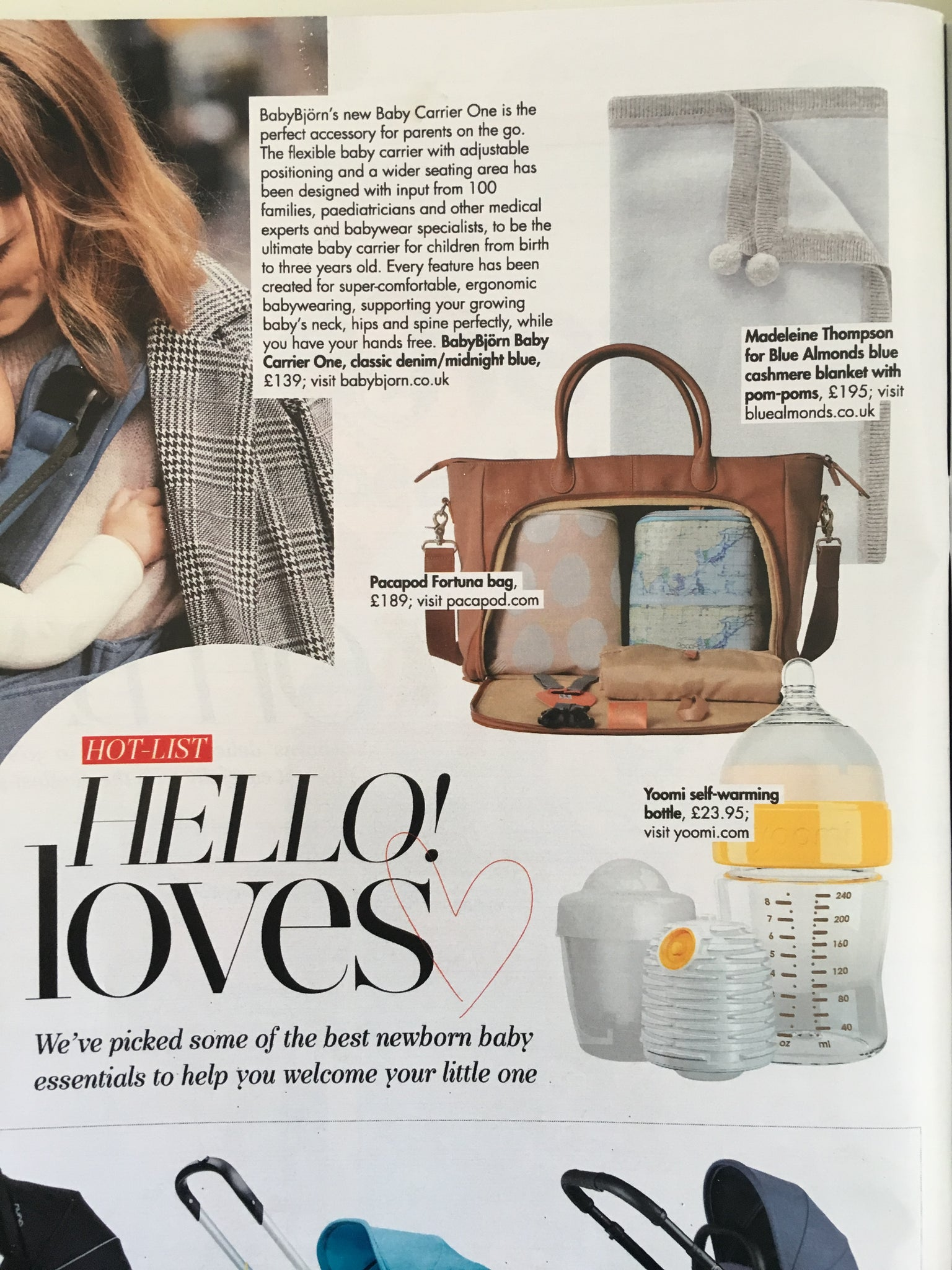 Fortuna features in HELLO Royal Baby Feature