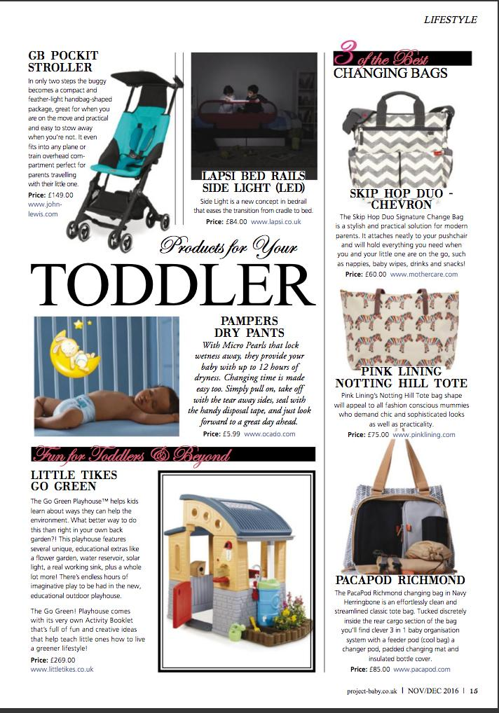 Best Baby Changing Bags - Project Baby Magazine