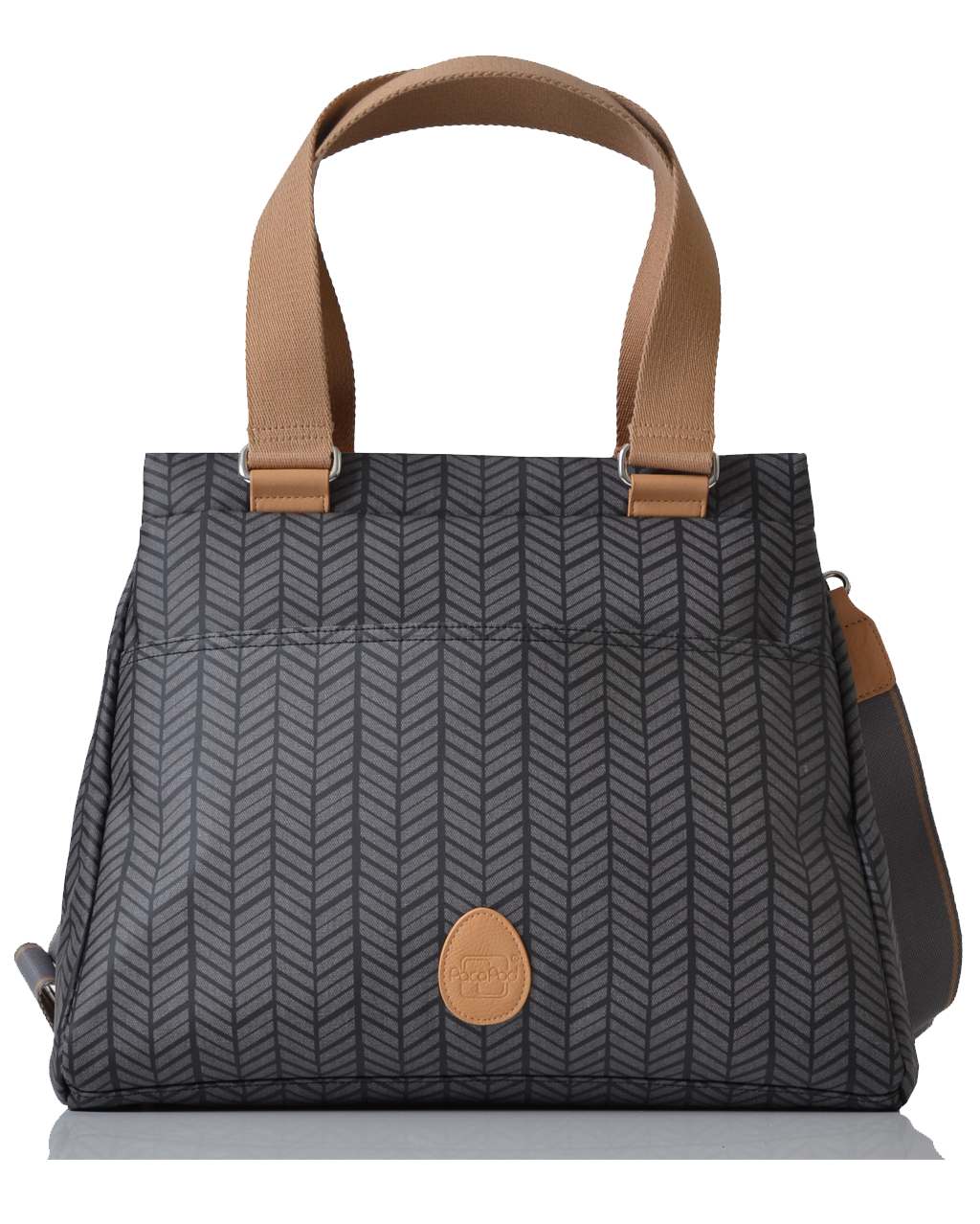 Richmond - charcoal herringbone