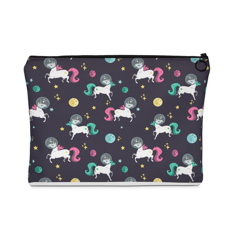 Space Unicorn Pattern Carry All Pouch