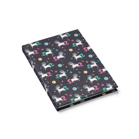 Space Unicorn Pattern Journal - Blank