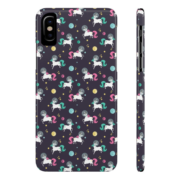 Space Unicorn Case Mate Slim Phone Cases