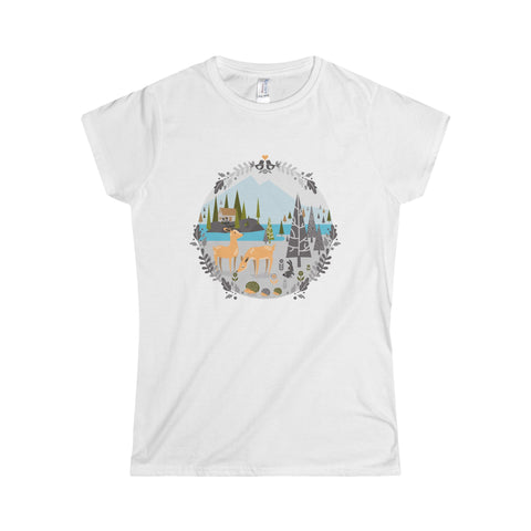 Nordic forest Women's T-Shirt