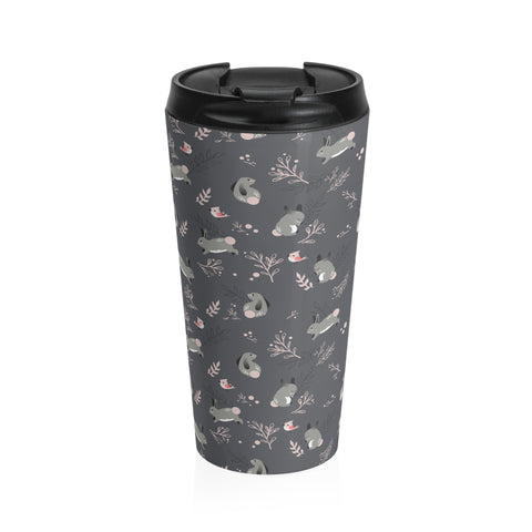 Bunny meadow Stainless Steel Travel Mug