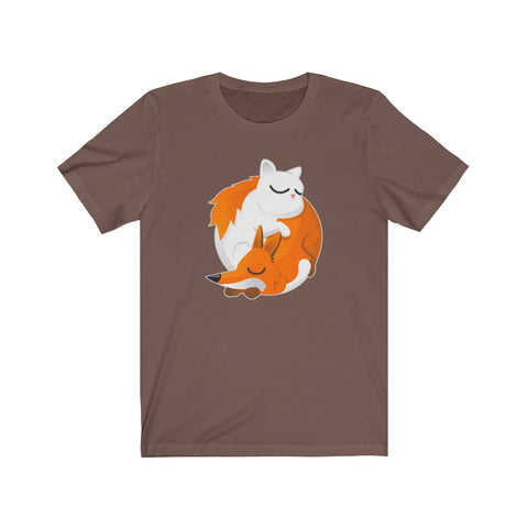 Cat and Fox Unisex T-Shirt