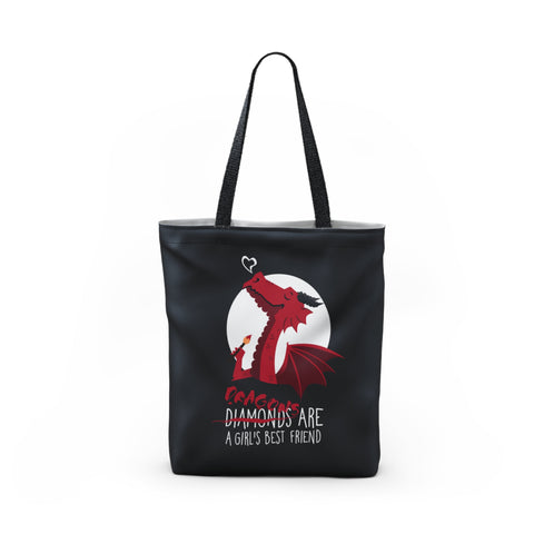 Dragon friend Tote Bag