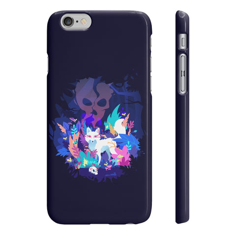 Fox of the Dream Forest Slim Phone Cases