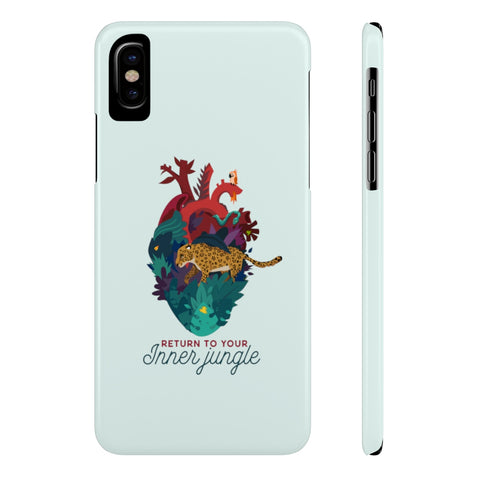 Inner Jungle Slim Phone Case