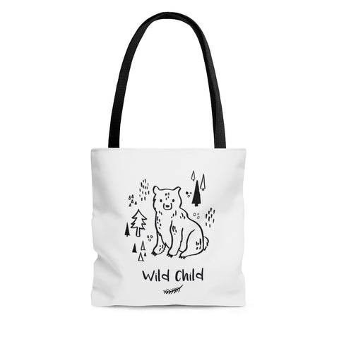 Inky Bears Tote Bag - Two sided