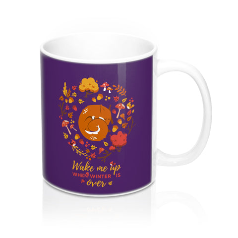 Squirrel forest Mug 11oz