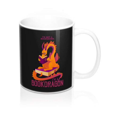 Bookdragon Mug 11oz
