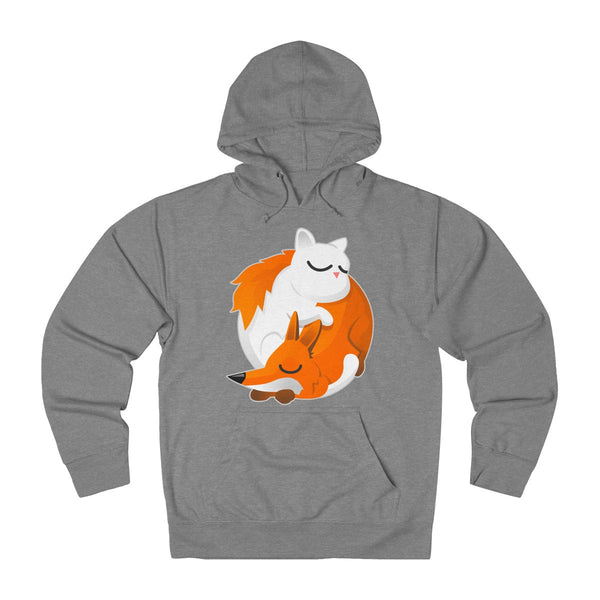 Cat and Fox Unisex  Hoodie