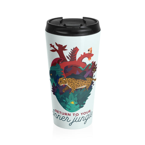 Inner Jungle Stainless Steel Travel Mug