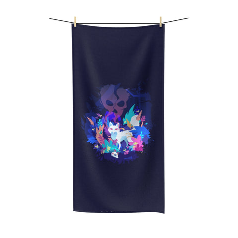 Fox of the Dream Forest Polycotton Towel