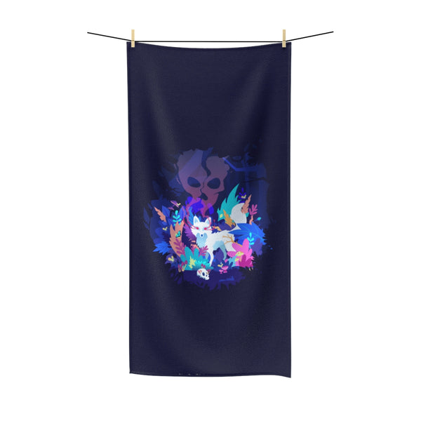 Fox of the Dream Forest Beach Towel