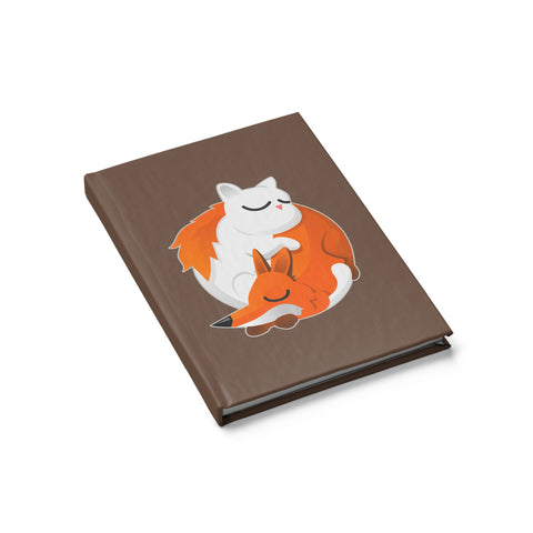 Cat and Fox Journal - Blank