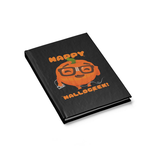 Happy Hallogeek! Journal - Blank