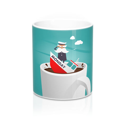 Captain Monday Mug